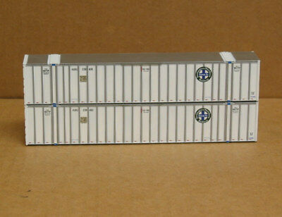 2 Walthers Ho 53 Containers  Bnsf  Hub Group