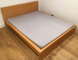 Ikea malm king size bed frame
