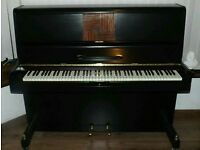 Black upright piano. FREE DELIVERY!