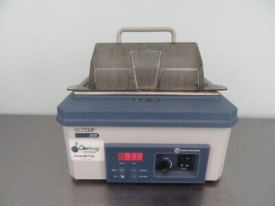 Fisher Isotemp 205 Water Bath With Warranty See Video