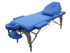 New Pu Reiki Portable Massage Table w/Carry Case & 2 Bolsters