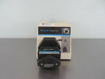 Cole-parmer Masterflex Console Drive Peristaltic Pump With Warranty See Video