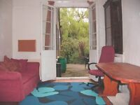 Room Directly onto patio & private wooded garden. :-) share. 100mg B.B. Grt Facilities Free Parking