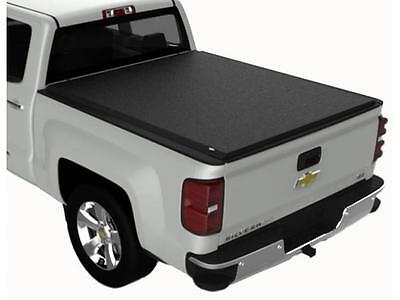 TruXedo 571801 Lo Profile QT Soft Roll-Up Tonneau Cover Silverado Sierra 5'8