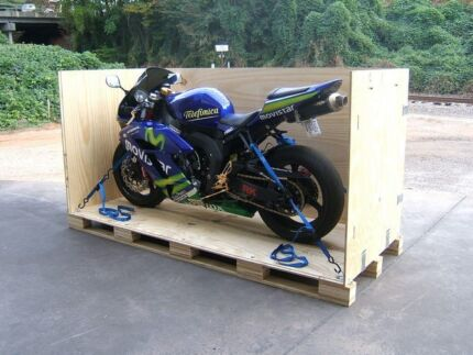 Motor Cycle Transportation Crate