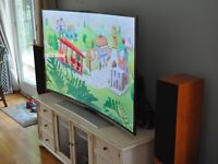 "LG tv 50"" curved"
