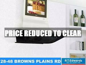 Ilve Vela 90cm Canopy Rangehood with Built in TV Browns Plains Logan Area Preview