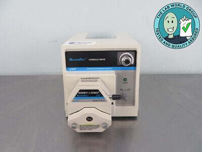 Masterflex Console Peristaltic Pump 7521-40 With Warranty See Video