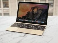 Gold Macbook - Newest model - Used a handful of times