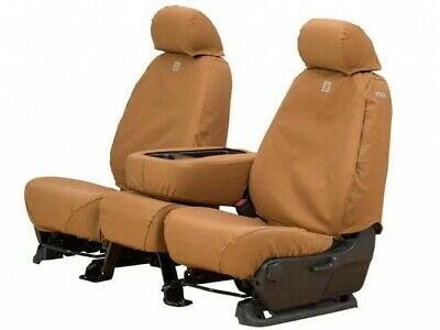 Covercraft Carhartt Custom Fit Seat Covers for 2005-2015 Toyota Tacoma - Brown