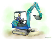 Looking for a mini excavator