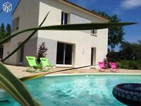 Villa with swimming pool in South of France, near Nice