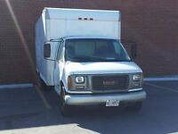 16 ft cube van with   delivery job for sale