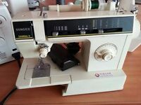 singer samba 4 sewing machine with pedal and accessories
