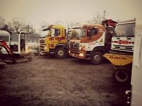 west yorkshire groundwork diggers dumpers