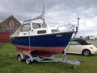 18FT Hardy Motor Sailor