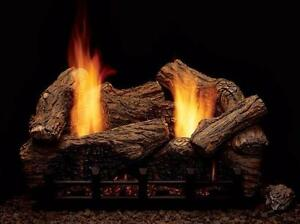 GAS LOG SET FIREPLACE