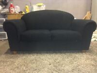 Black Love Seat -  DELIVERY
