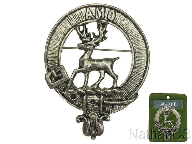 Scott Clan  Scottish Crest Badge