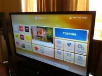 40 Toshiba WiFi Built In Smart Full HD 1080p LED TV with Freeview HD