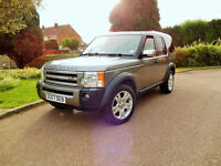 2007 LAND ROVER DISCOVERY 3 2.7TDV6 GREY AUTOMATIC 132000 MILES