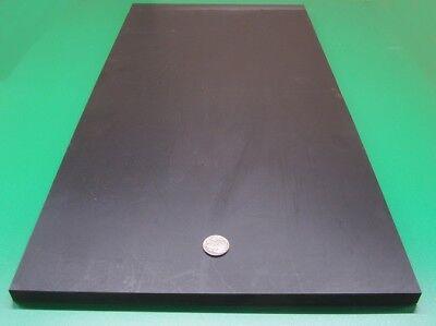"""Tivar UHMW PE Black Sheet 1.00/"""" Thick x 12/"""" Wide x 12/"""" Length"""