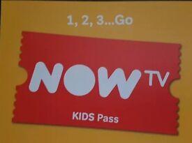 4 months kids now tv pass