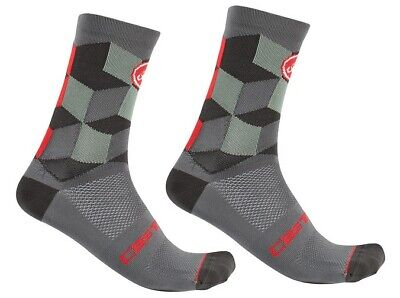 lot 4 pairs Castelli  striscia   cycling socks