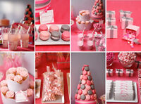 Candy buffets, cupcakes, oreo pops, marshmallow pops, etc