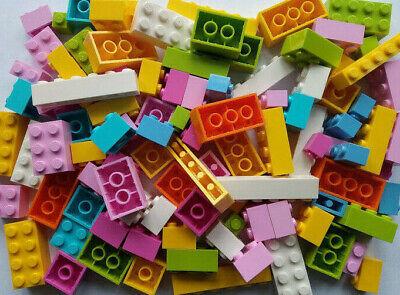 100 LEGO BRICKS MIXED NEW