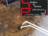 Drain clearing and video (scoping) inspections