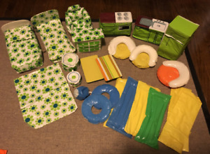 HUGE Lot of Vintage 1970s Inflatable Barbie/Doll Furniture