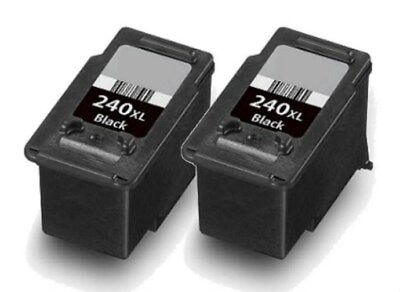 2pk PG-240XL Black Ink Cartridges for Canon PIXMA MG MX Series