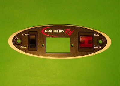 Generac Guardian Rv Replacement Remote Start Panel Face Switches
