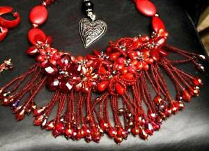 Red Coral Necklace from Sacks Fifth Avenue