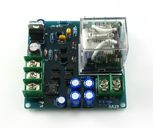 2-channel-Stereo-Speaker-protection-board-LED-assembled