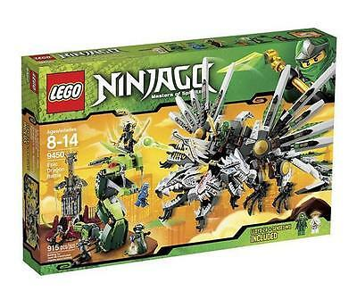 Lego Ninjago Sealed Set 9450 Epic Dragon Complete Minifigs Ninja Snakes