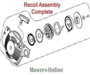 Mitox Chainsaw Recoil Starter Assembly MIYD38-5.12.00-00 CS3814 CS38 CS4116 CS46