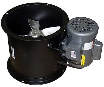 Spray Booth Fan- 18 Tube Axial - 2420 Cfm - 1 Phase Motor - Made In The Usa