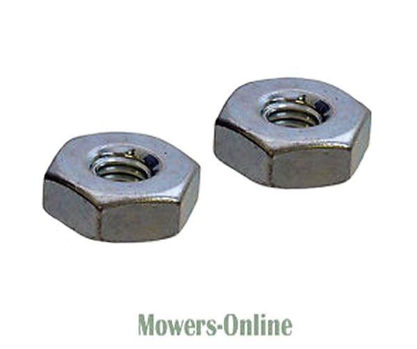 2x Genuine Stihl Chainsaw Sprocket Cover Hex Nut M8 0000 955 0801 MS171 MS180