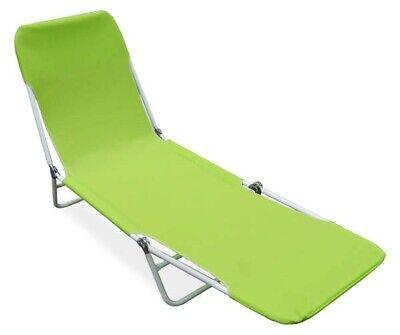 Green Sling Folding Lounger Set of 2 for sale  Atlanta