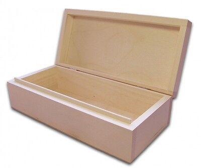 Holzbox, Aufbewahrungsbox, Holz-Schachtel, Linde unbeh.