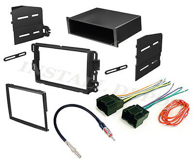 (CHEVY GMC COMPLETE RADIO STEREO INSTALL DASH KIT PLUS WIRE HARNESS & ANT ADAPTER)