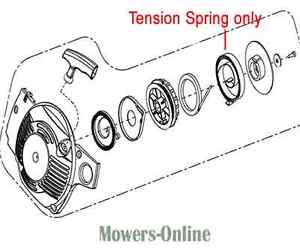 Mitox Chainsaw Starter Tension Spring MIYD38-5.12.00-5 CS41 3814 4116 CS38 38CS