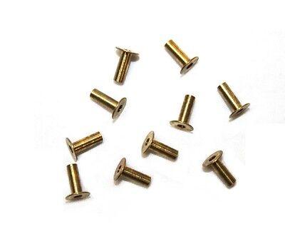 Pack Of 10 Parker 1vdc5 Brass Compression Insert 14 Tube Size 63pt-4-62