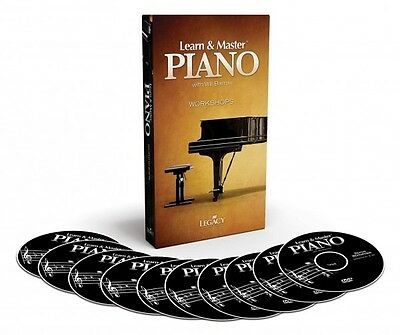 Learn and & Master Piano Bonus Workshops 10 DISK PACKAGE - DVDs - NEW  000321116 on Rummage