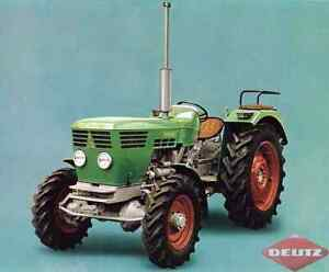 Deutz D4006 FWA/4wd/4x4 tractor Officer Cardinia Area Preview