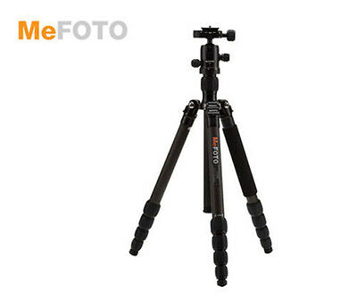MeFoto TRIPOD Monopod C1350Q1K Roadtrip Carbon Fiber Travel Black open box