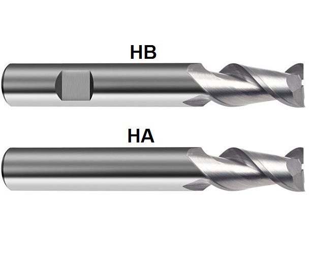 Gühring VHM Hartmetall ALU Langlochfräser Fräser  D=2mm - 20 mm Z=2 Standard