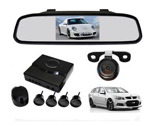 4-3-TFT-Car-Rearview-Mirror-Monitor-Rear-View-Backup-Camera-4-Parking-Sensors